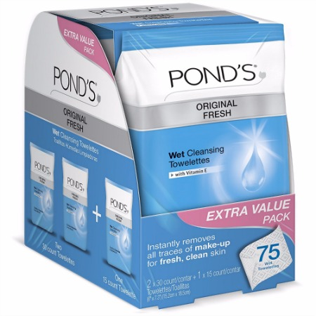 Pond's Wet Cleansing Towelettes