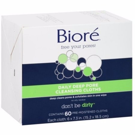 Biore Daily Deep Pore Cleansing Cloth