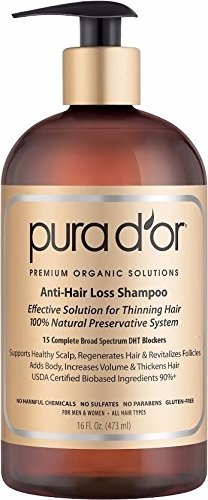 Pura D'or Anti-Hair Loss Premium Organic Shampoo Review
