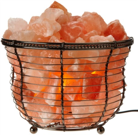 WBM Round Basket Style Himalayan Salt Lamp Reviews