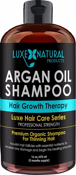 Luxe Natural Products Argan Oil Shampoo Review
