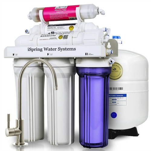 iSpring RCC7AK Under-Sink Reverse Osmosis Water Filter System Review