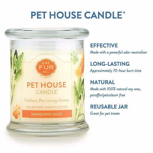One Fur All Pet House Candle Review