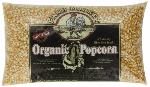 Great Northern Organic Yellow Gourmet Popcorn Kernels Review