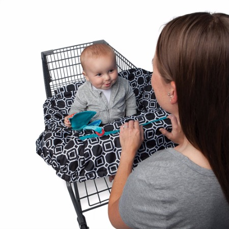 Boppy Shopping Cart and High Chair Cover Review