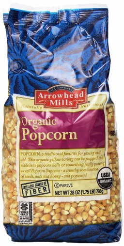 Arrowhead Mills Organic Yellow Popcorn Review