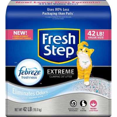 Fresh Step Extreme Clumping Cat Litter Review