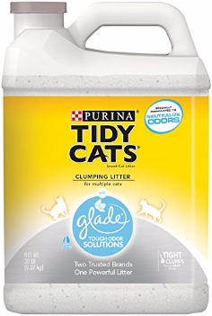 Purina Tidy Cats Glade Tough Odor Solutions Cat Litter Review