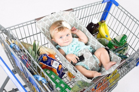 Binxy Baby Shopping Cart Hammock Review