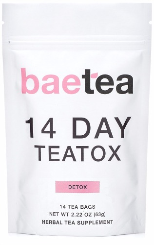 Baetea 14 Day Teatox Detox Herbal Tea Supplement Review