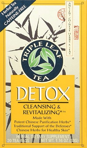 Triple Leaf Tea Chinese Medicinal Detox Tea Review
