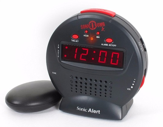Get a Loud Alarm Clock