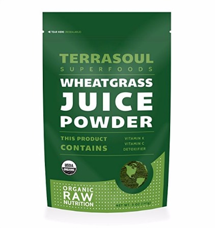 Terrasoul Superfoods Organic Wheat Grass Juice Powder Review