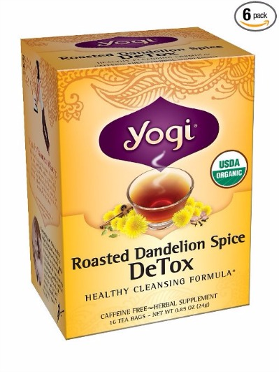 Can the Yogi Brand detox tea help one lose weight faster