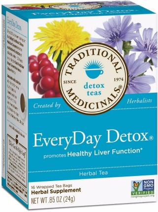 Traditional Medicinals EveryDay Detox Tea Review