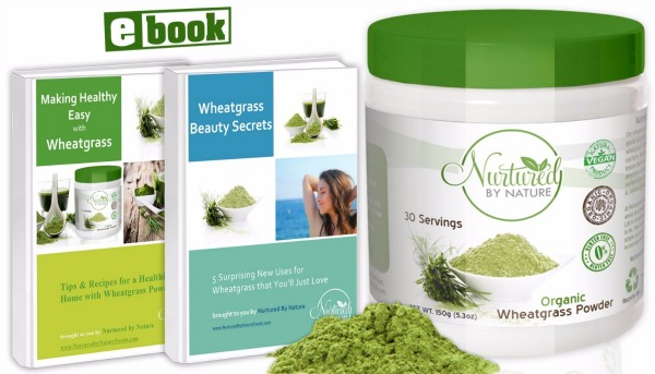 Nurtured by Nature Foods Premium Organic Wheatgrass Powder Review