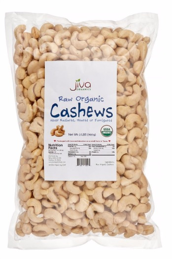 Jiva Organics Raw Cashews Review