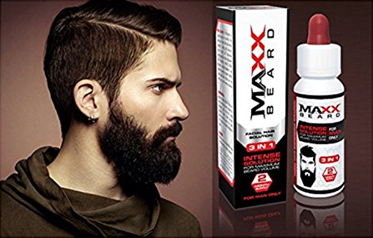 BeardMaxx - Best Facial Hair and Beard Growth Formula