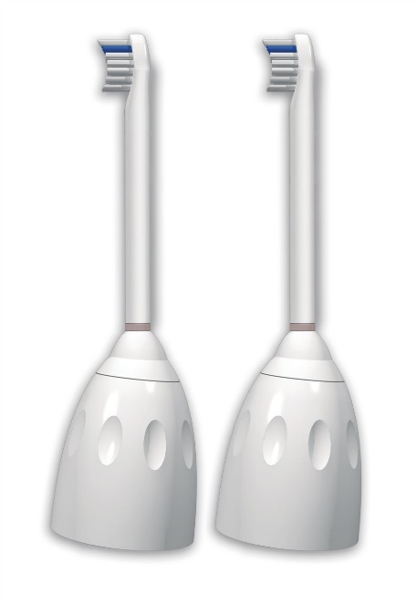 Philips Sonicare Hx7012/64 E-Series Compact Replacement Brush Heads, 2 Pack