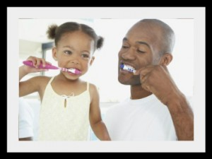 Daily Flossing, Tongue Scraping, Brushing and Mouthwash Gargle