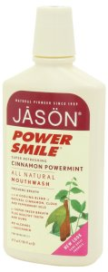 JASON PowerSmile Cinnamon Powermint Mouthwash