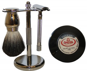 Simply Beautiful Shaving Set with Merkur Razor