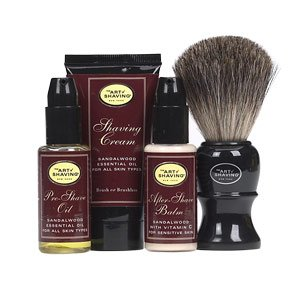 The Art of Shaving Starter Shaving Brush Kit