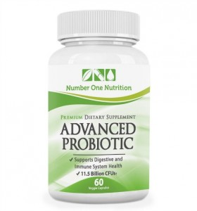 Number One Nutrition Advanced Probiotic