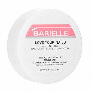 Barielle Acetone Free Nail Polish Remover Toweletts