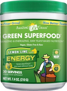 Amazing Grass Energy Green Superfood Lemon Lime Flavor