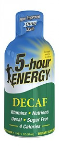 5 Hour Energy Caffeine Free