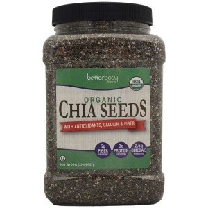 Difference between White and Black Chia Seeds