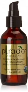 Pura d'or 100% Pure Organic Argan Oil
