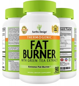 Earths Design Thermogenic Fat Burner Pills