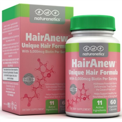 HairAnew by Naturenetics Reviews