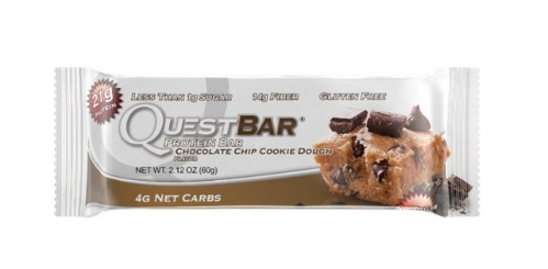 Quest Nutrition Protein Bar Chocolate Chip Cookie Dough