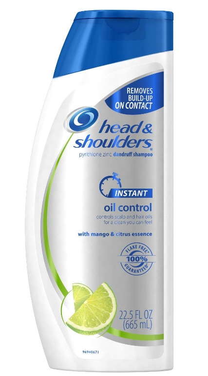 Head & Shoulders Instant Oil Control Dandruff Shampoo