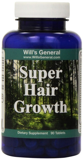 Will's General Super Hair Growth Vitamins