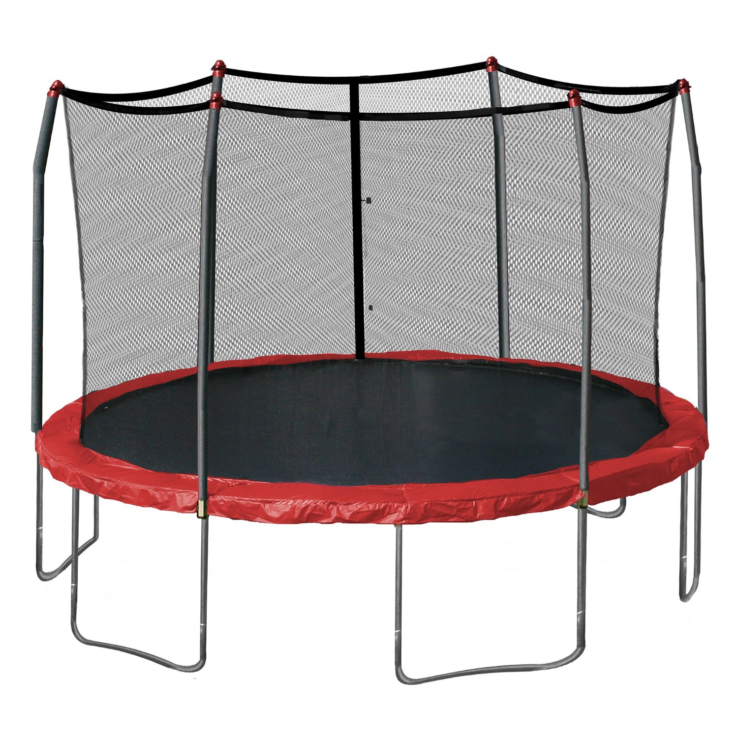 Skywalker 15-Feet Round with Enclosure and Spring Pad Review