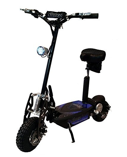 BlackSUP800-2 Super Turbo 1000watt Elite 36v Electric Scooter