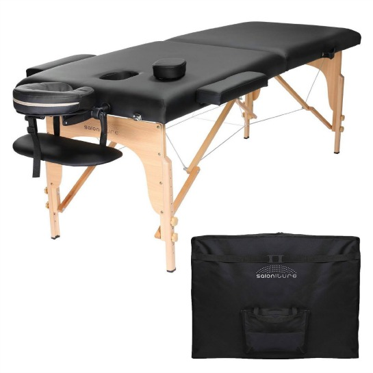 Saloniture Professional Portable Folding Massage Table