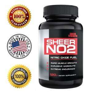 Sheer NO2 Strength Labs Nitric Oxide Supplement