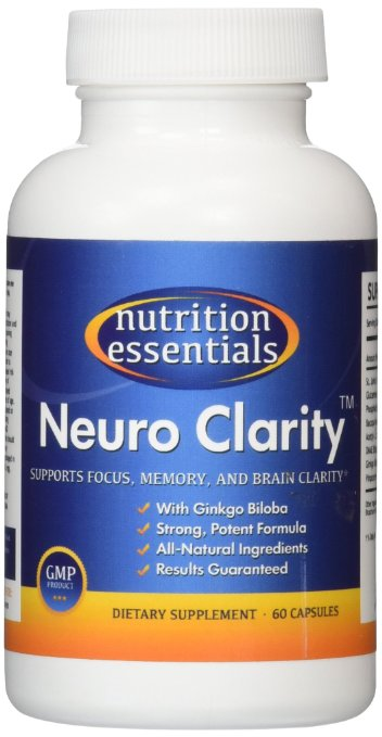 Nutrition Essentials All-Natural Brain Function Booster