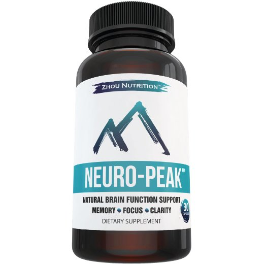 Zhou Nutrition Natural Brain Function Support for Memory