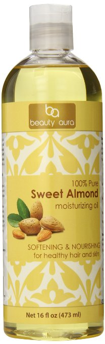 Beauty Aura 100% Pure Sweet Almond Oil
