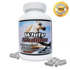 White Stallion Nitric Oxide 90 Capsules Supplement