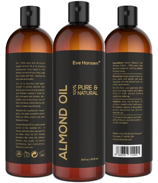 Eve Hansen Sweet Almond Oil
