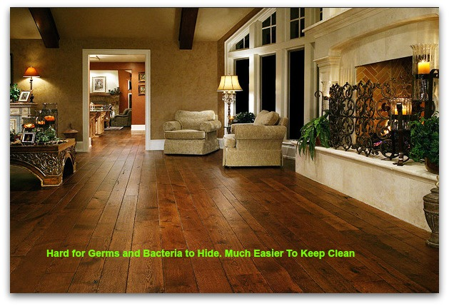 Health Benefits of Having Wood Flooring