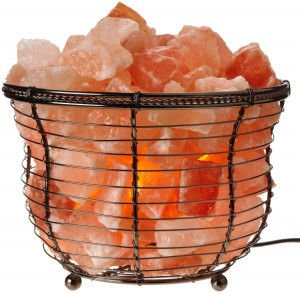 WBM 1301B Himalayan Natural Crystal Salt Basket Lamp Review