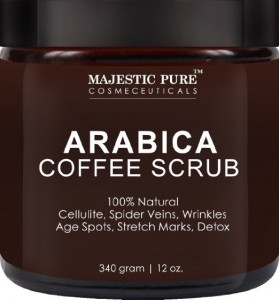Arabica Coffee Scrub From Majestic Pure